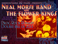 Neal Morse Band & The Flower Kings Tour Poster